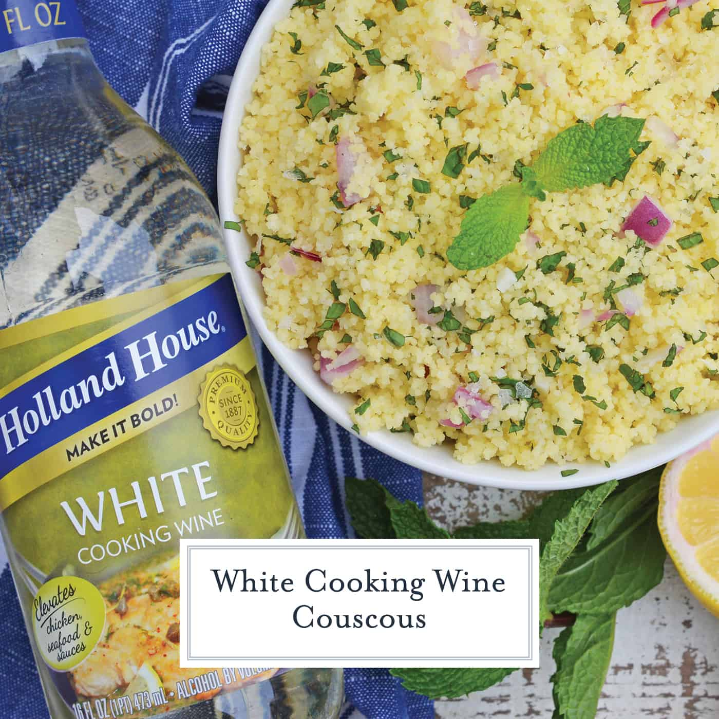 White Wine Couscous Recipe