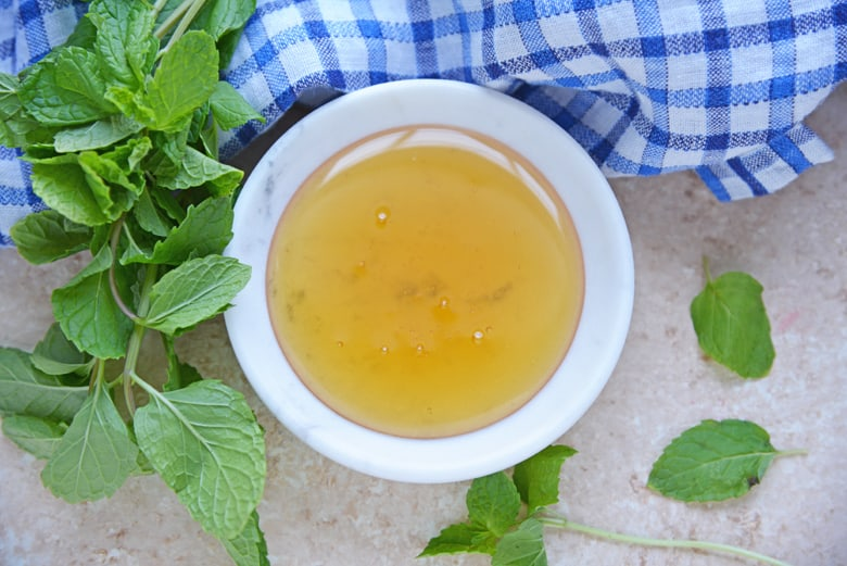 A bowl of agave nectar