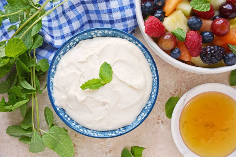 Cream Cheese Fruit Salad Dip