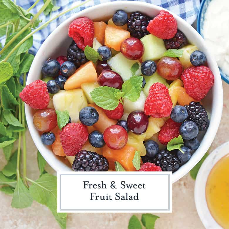 Perfect Fruit Salad Recipe