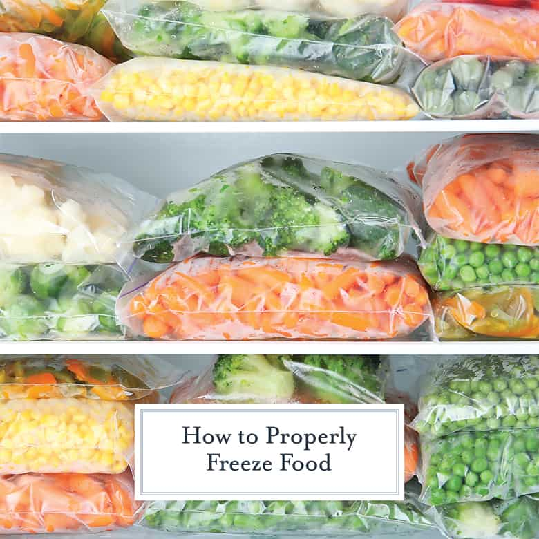 guide to freezing foods