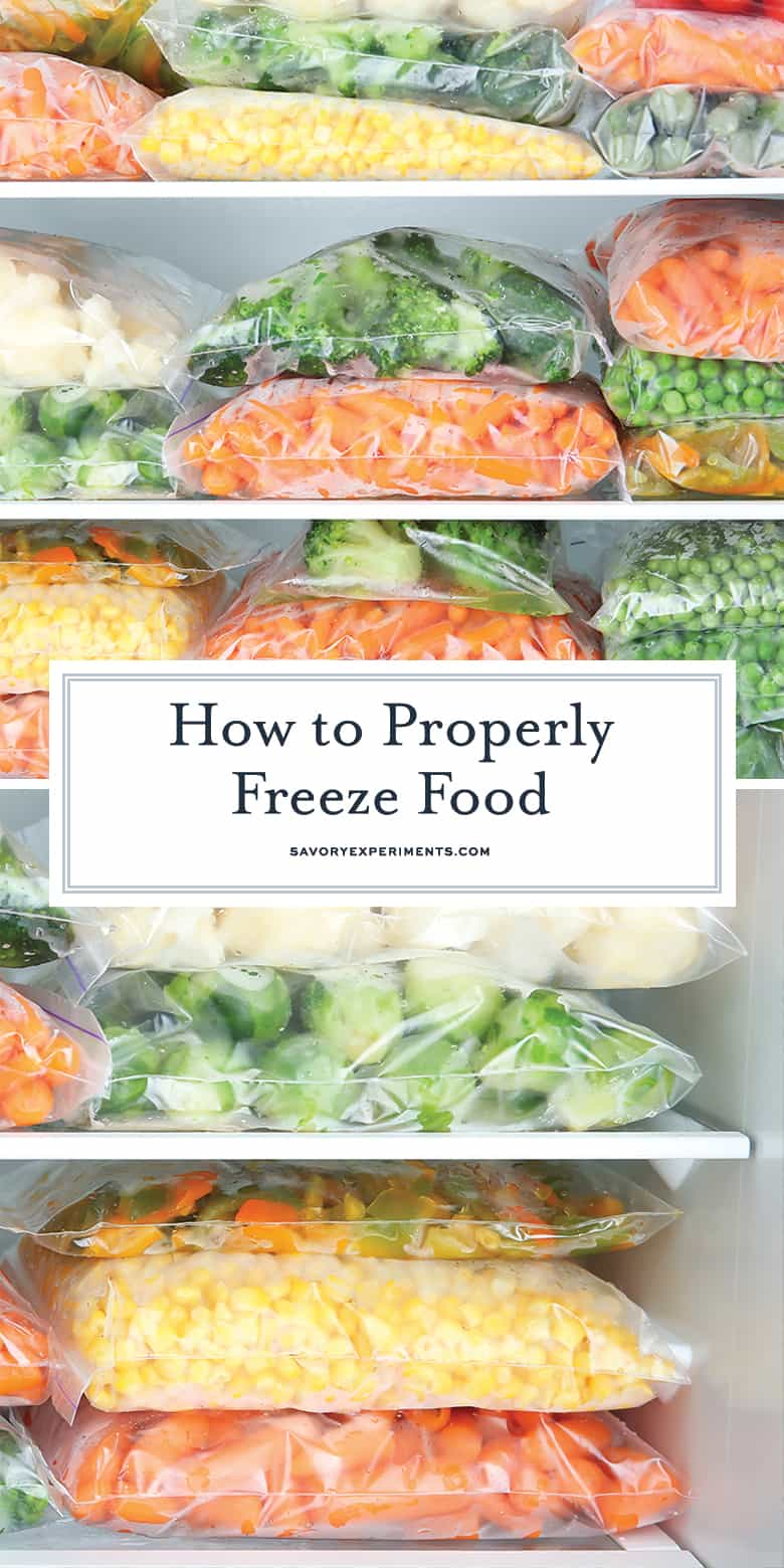 how to freeze food for pinterest