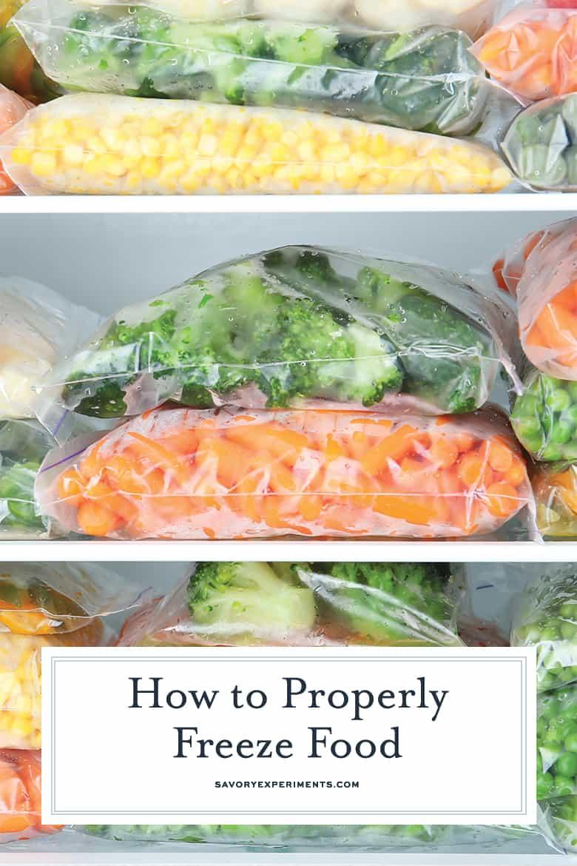 frozen food guide for pinterest