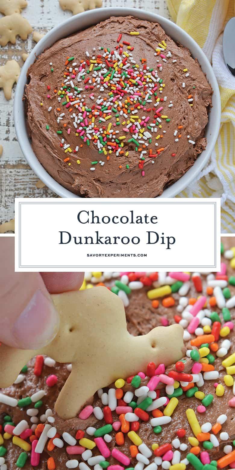 chocolate dunkaroo dip