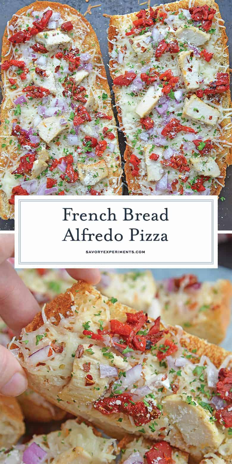 French bread pizza for pinterest