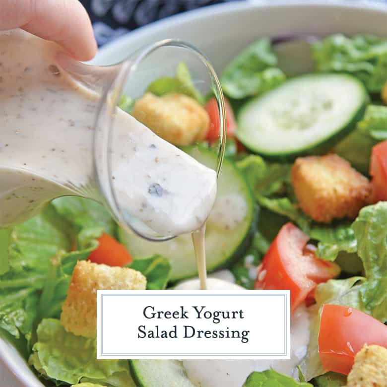 Greek Yogurt Salad Dressing Greek Salad Dressing