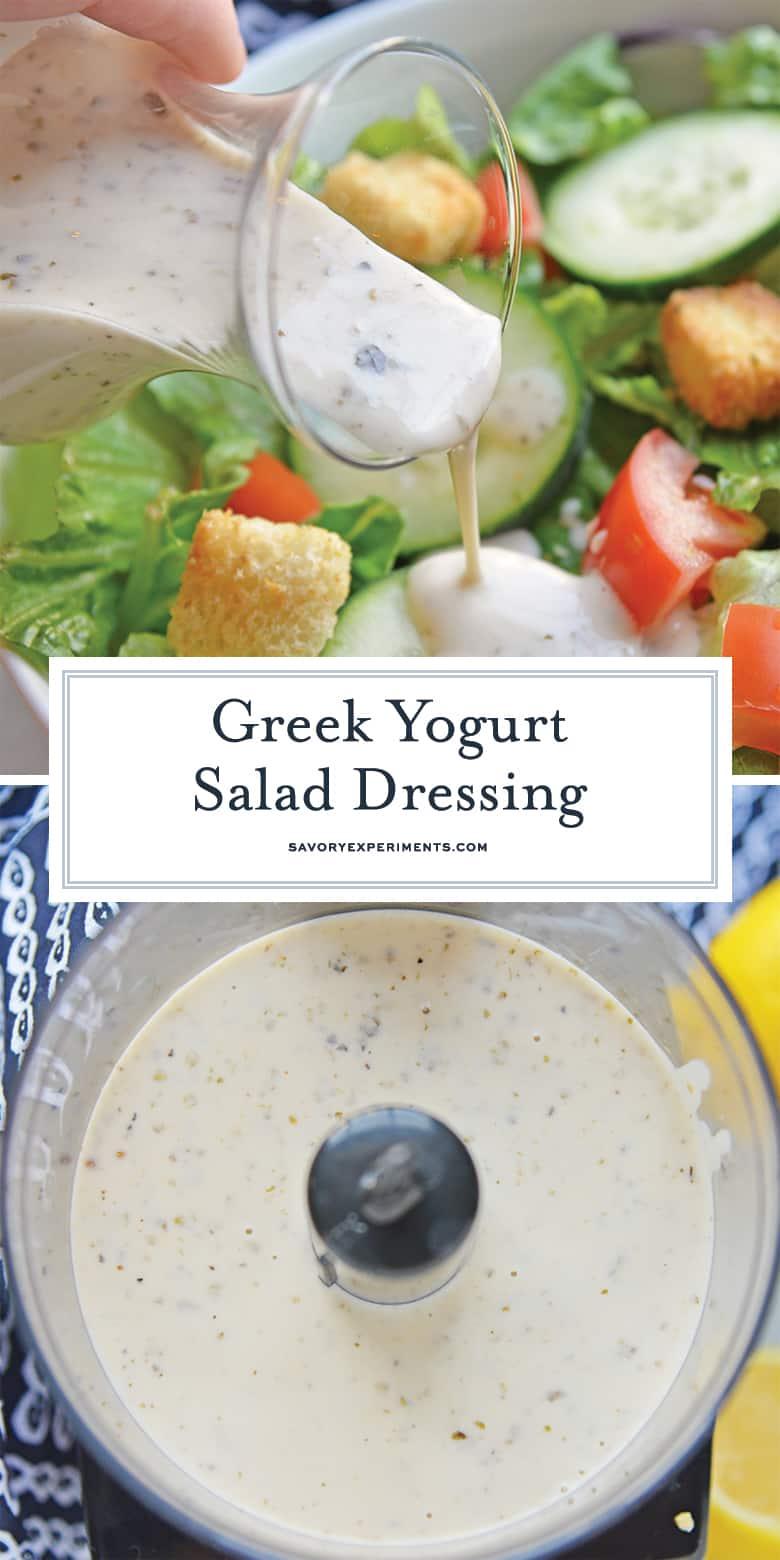 greek yogurt salad dressing for pinterest