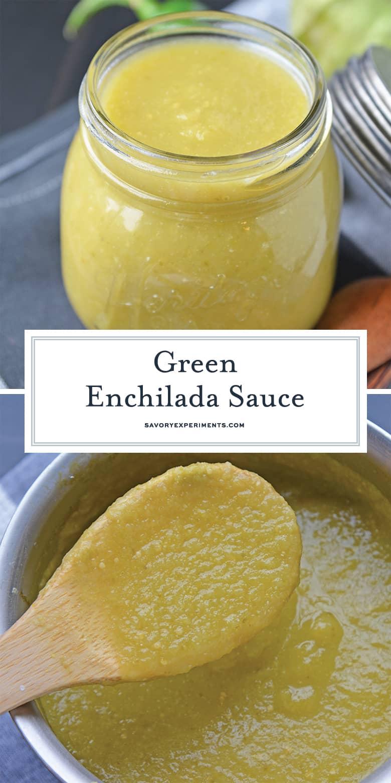Green enchilada sauce for pinterest