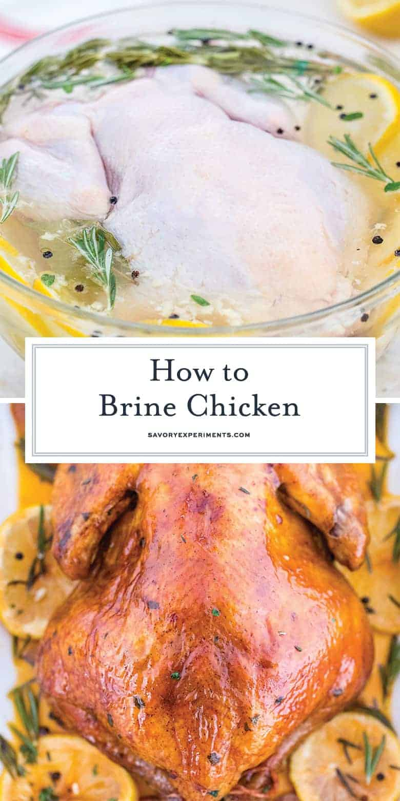 how to brine chicken for pinterest