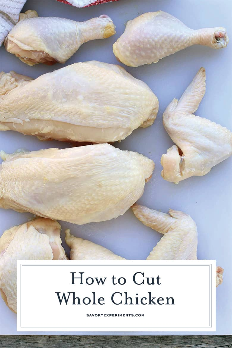 Cut Chicken Pieces PIN