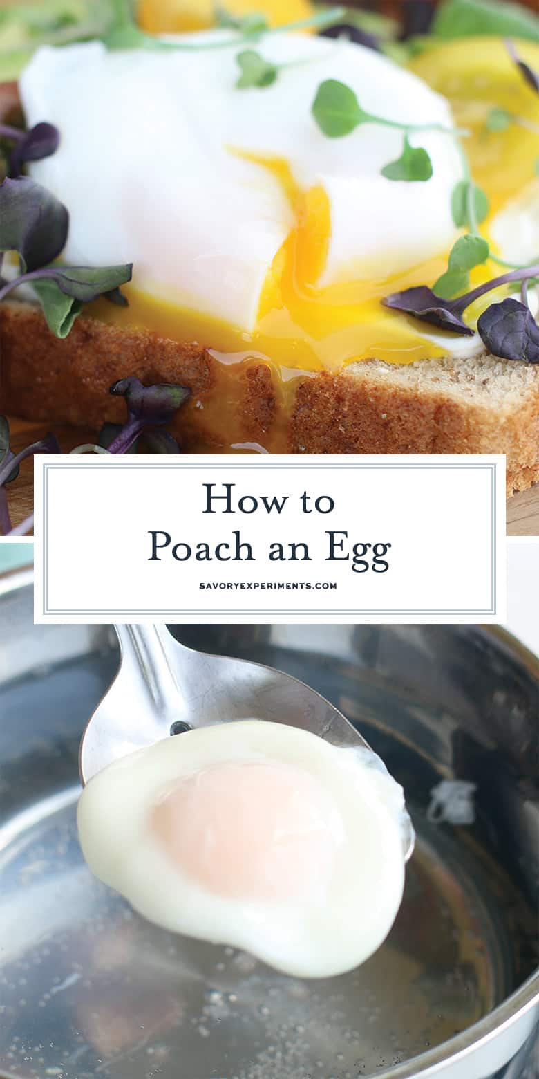 How to Poach an Egg for Pinterest