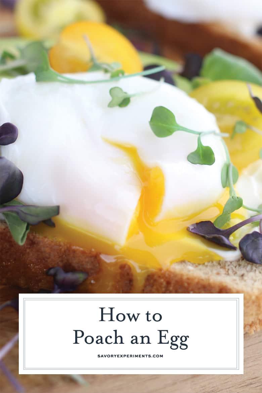 Runny egg yolk on toast