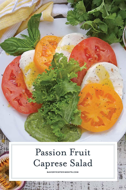 Caprese salad for pinterest
