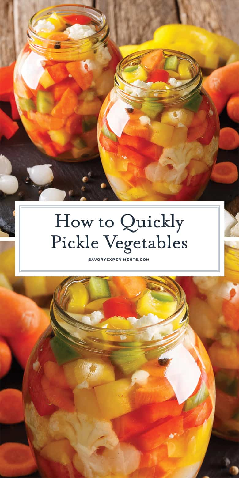 How to pickle vegetables for pinterest