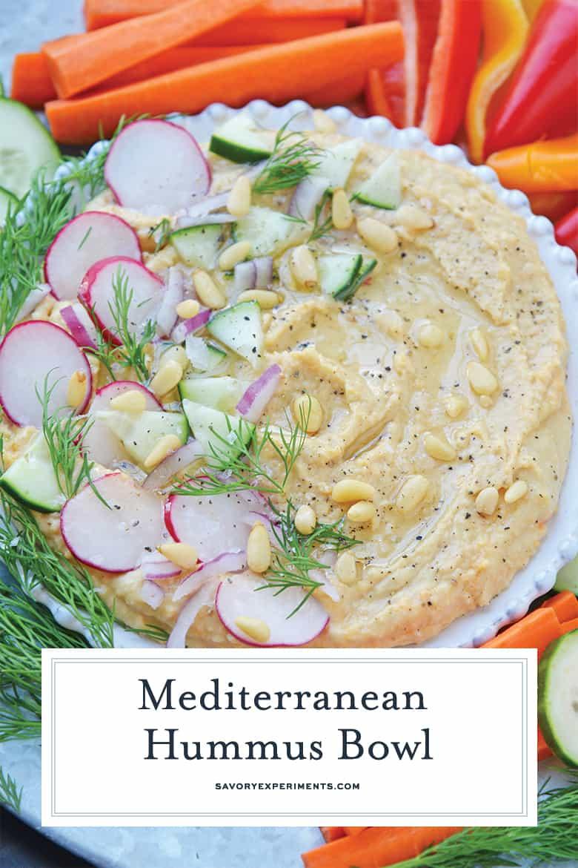 Mediterranean Hummus Bowl PIN
