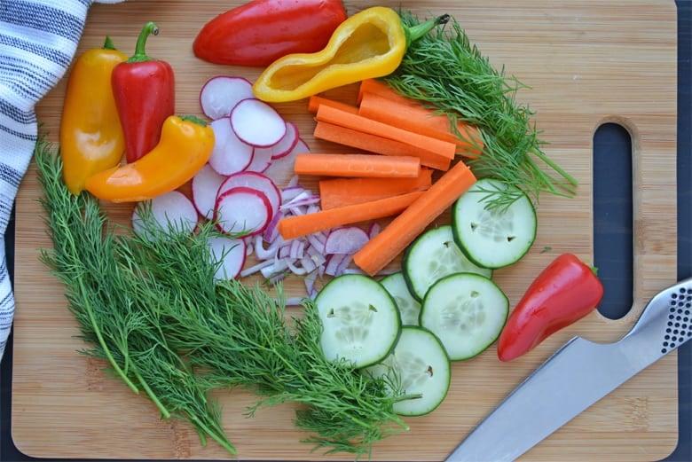 hummus bowl ingredients