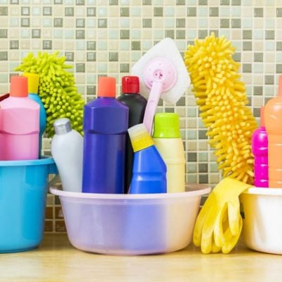 Cleaning your kitchen