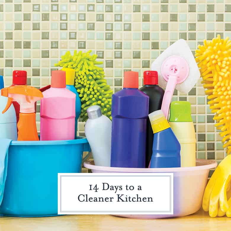 Cleaner Kitchen Challenge