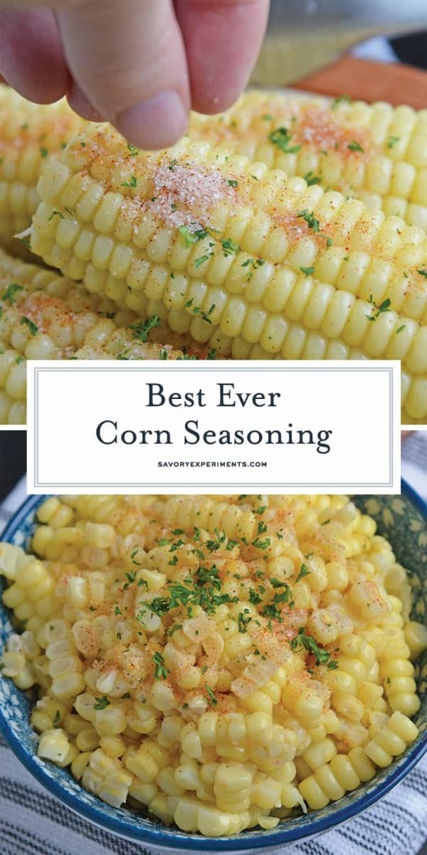 Corn on the cob seasoning for pinterest