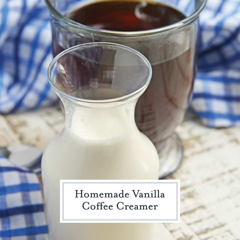Vanilla Coffee Creamer Recipe