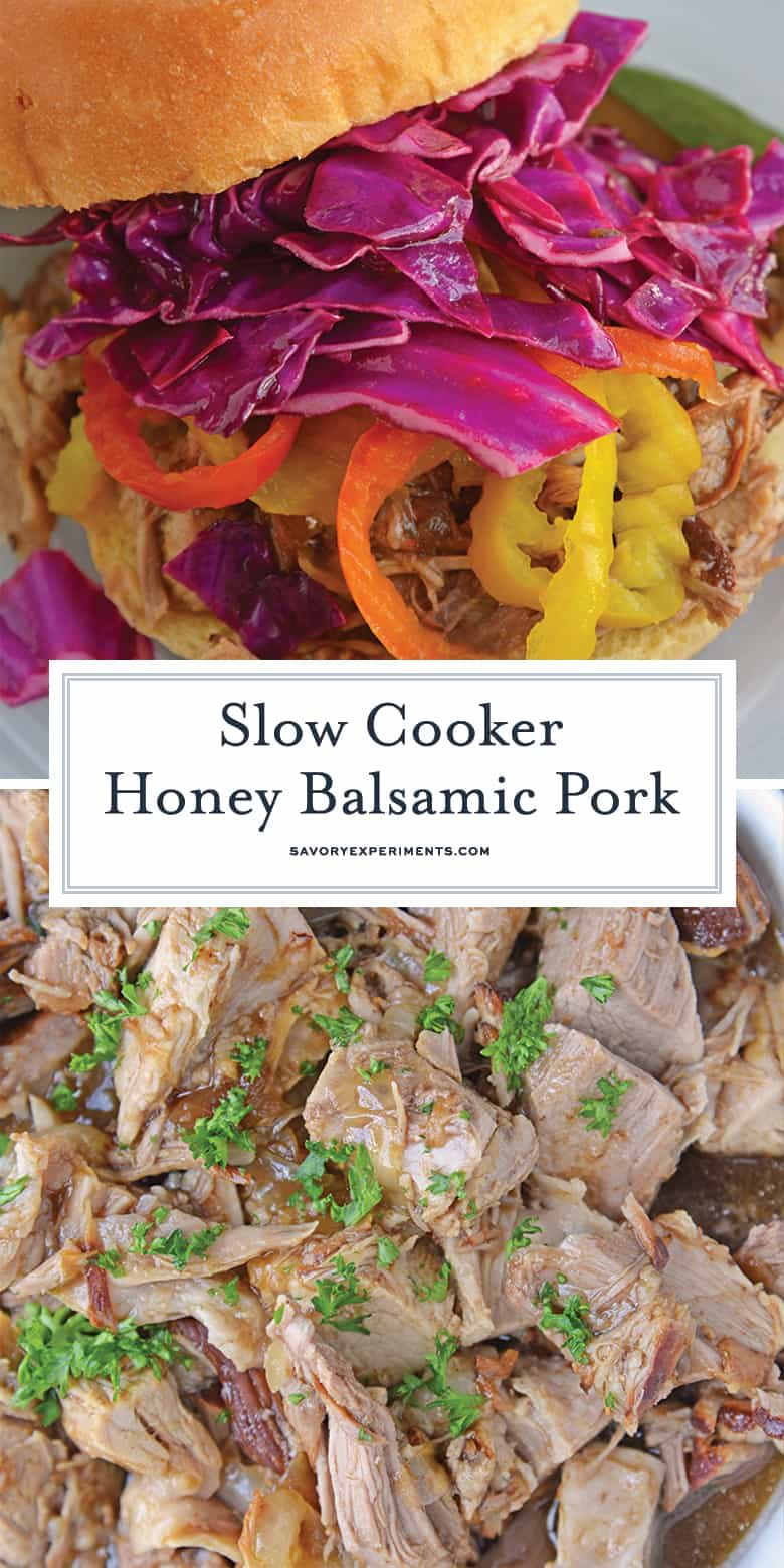 slow cooker pulled pork sandwich for PIN 1