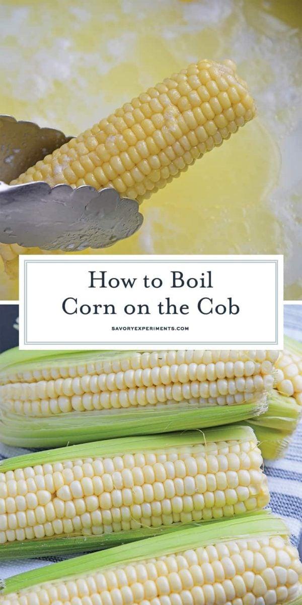how to boil corn for pinterest