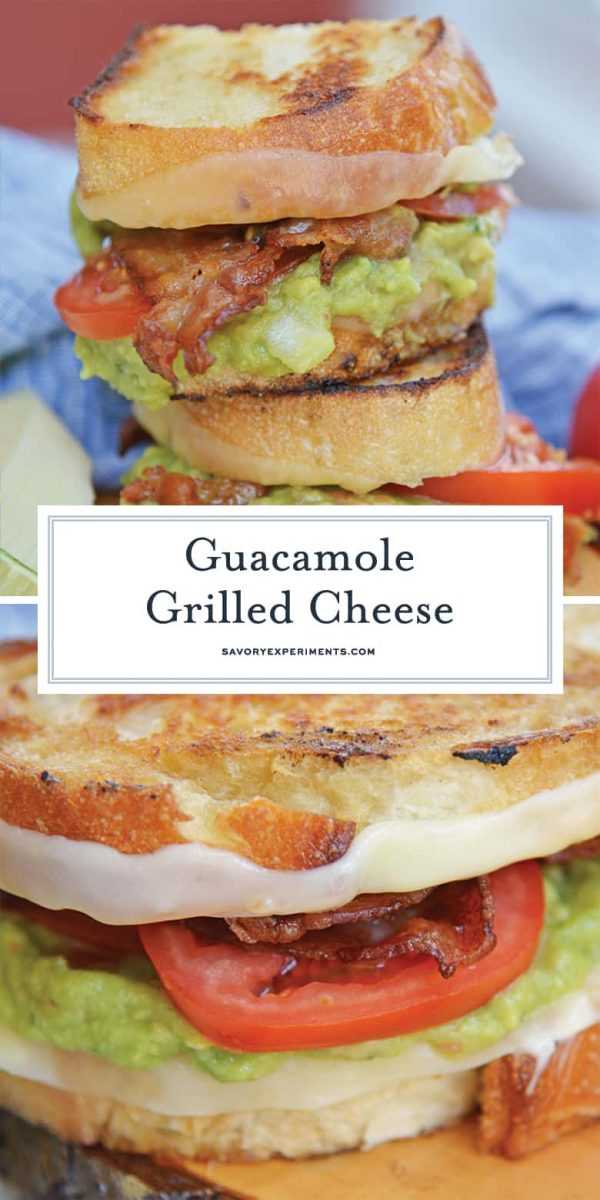 Guacamole grilled cheese sandwich for Pinterest