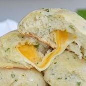 cheese stuffed rolls