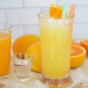 orange crush on a counter