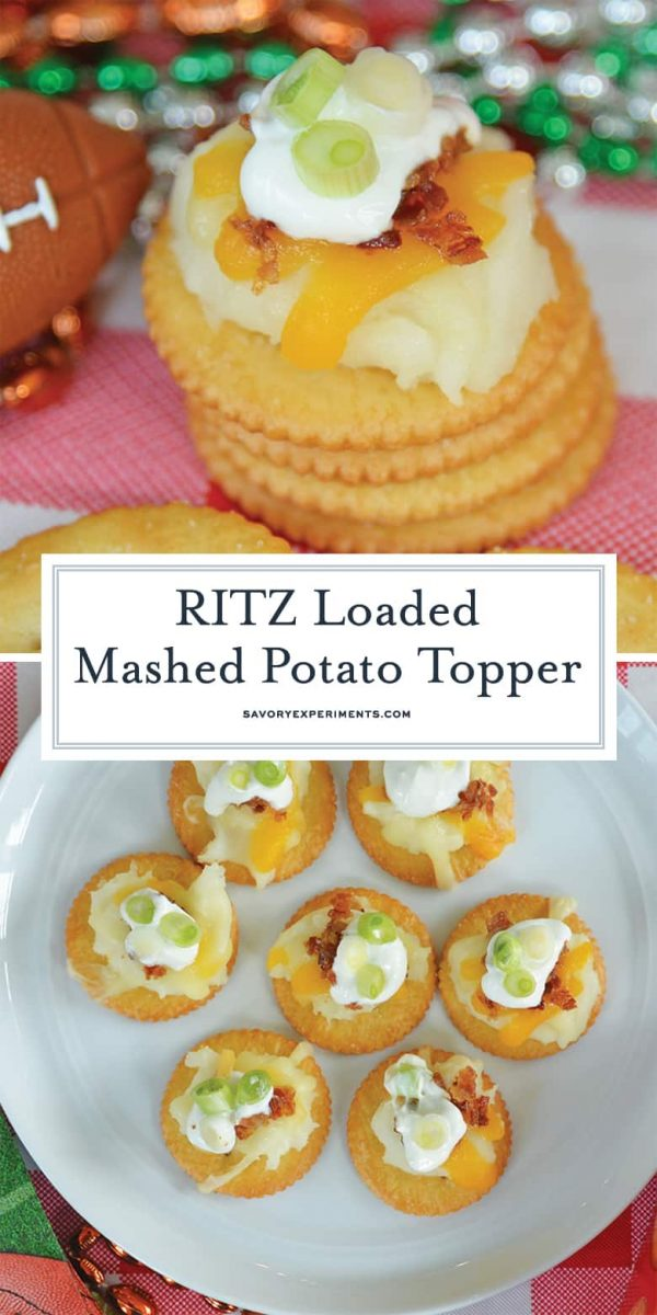 RITZ Loaded Mashed Potato Topper for Pinterest