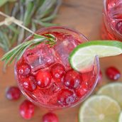 cranberry punch overhead