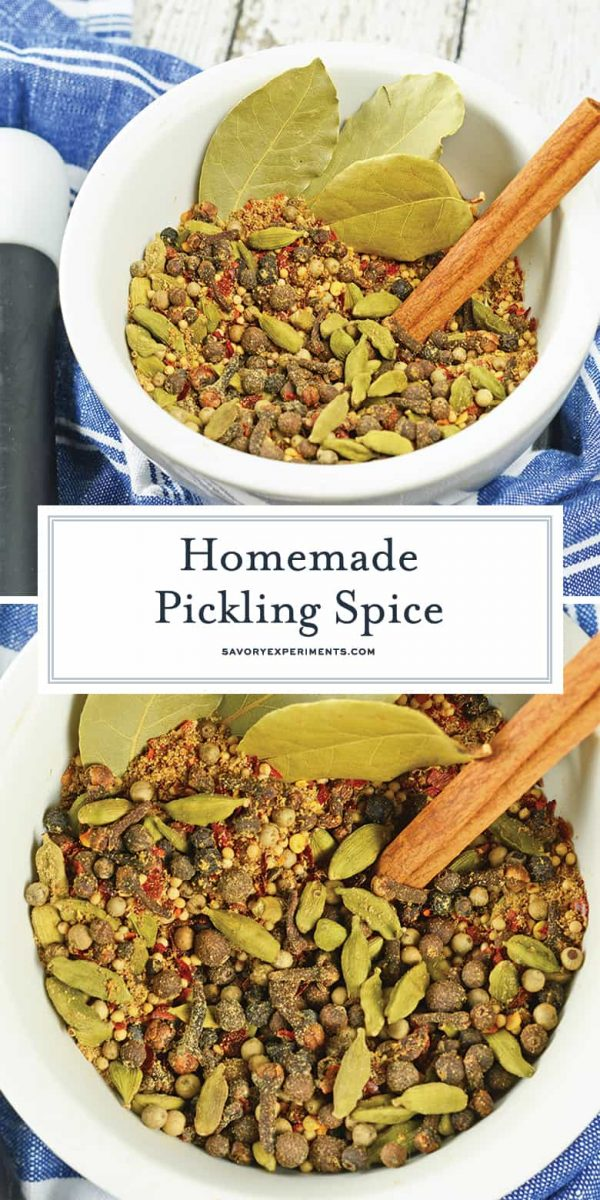 Pickling spices for pinterest