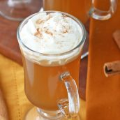 cup of hot buttered rum