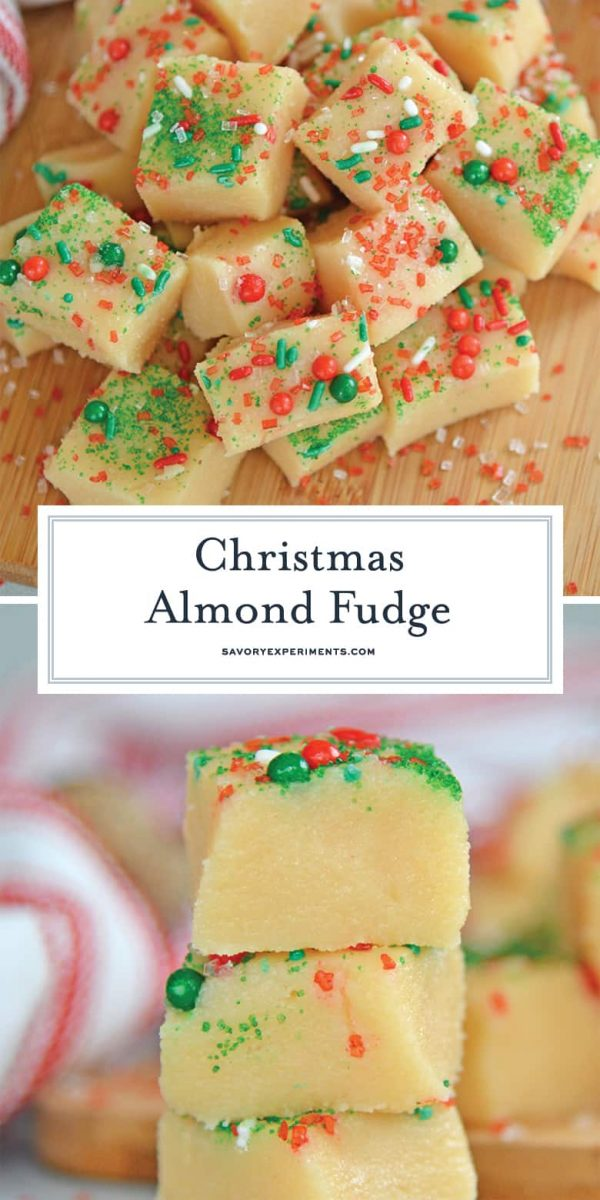 Christmas fudge for Pinterest