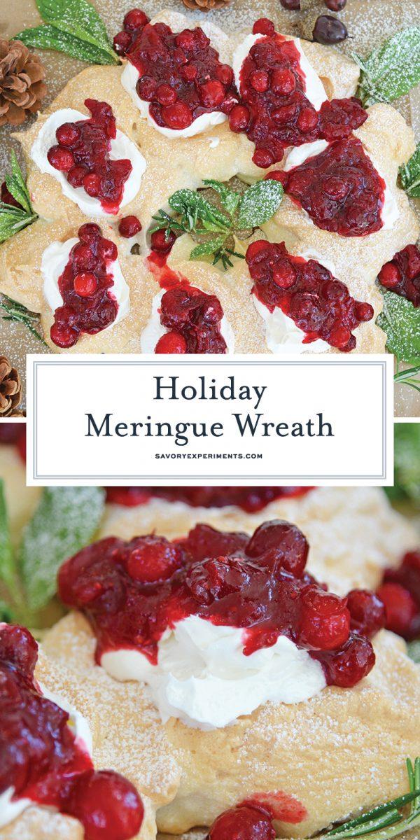 Holiday pavlova recipe for pinterest