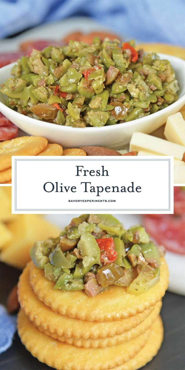 Fresh olive tapenade for pinterest