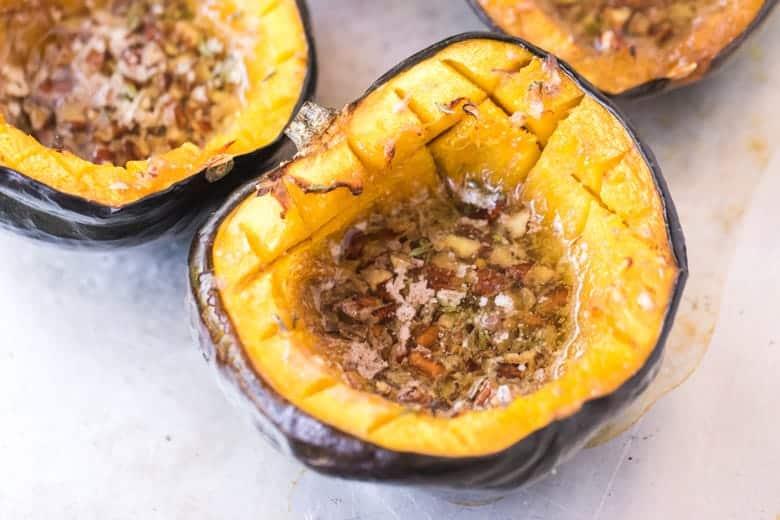 roast acorn squash