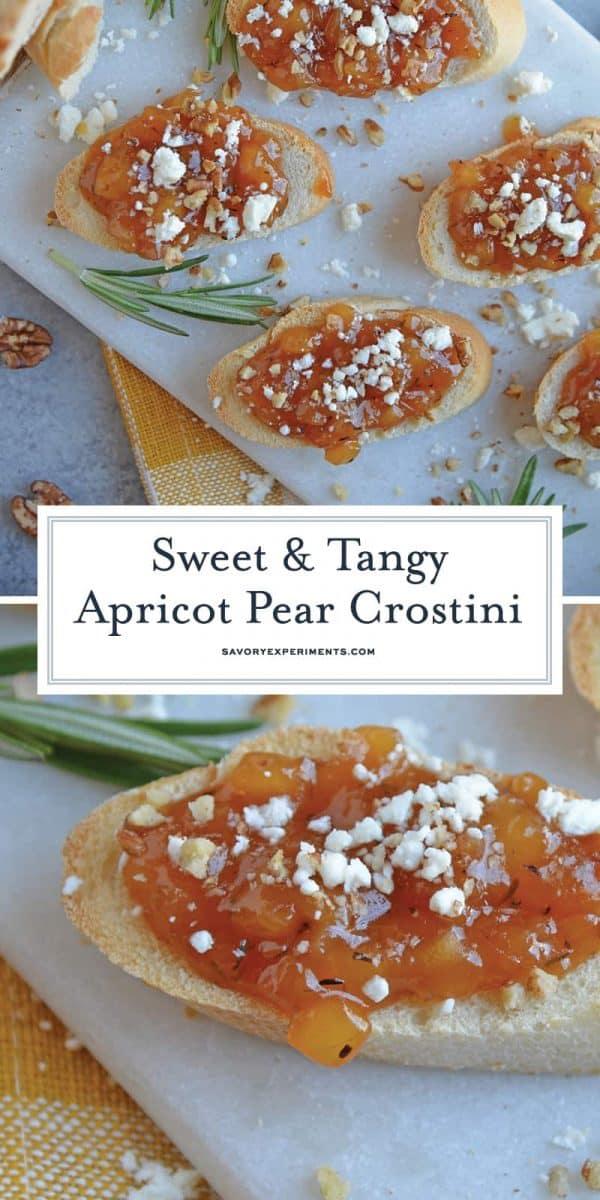Apricot and Bruschetta
