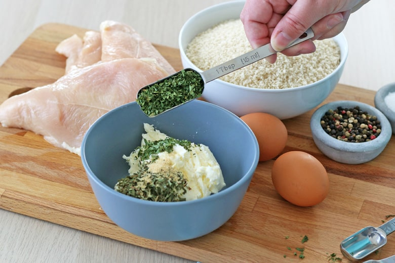 Chicken kiev ingredients