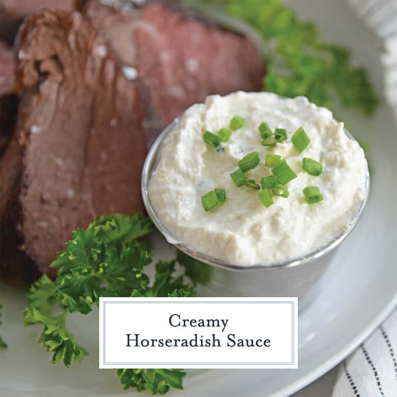 Creamy Horseradish Sauce The Perfect Sauce For Steak