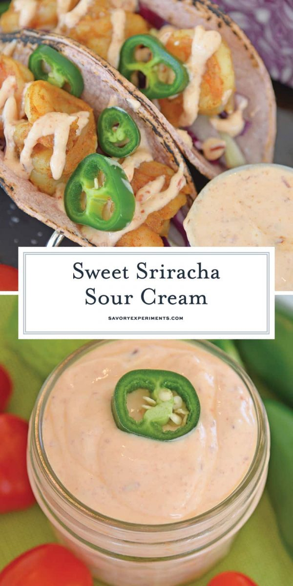Sriracha sour cream for pinterest