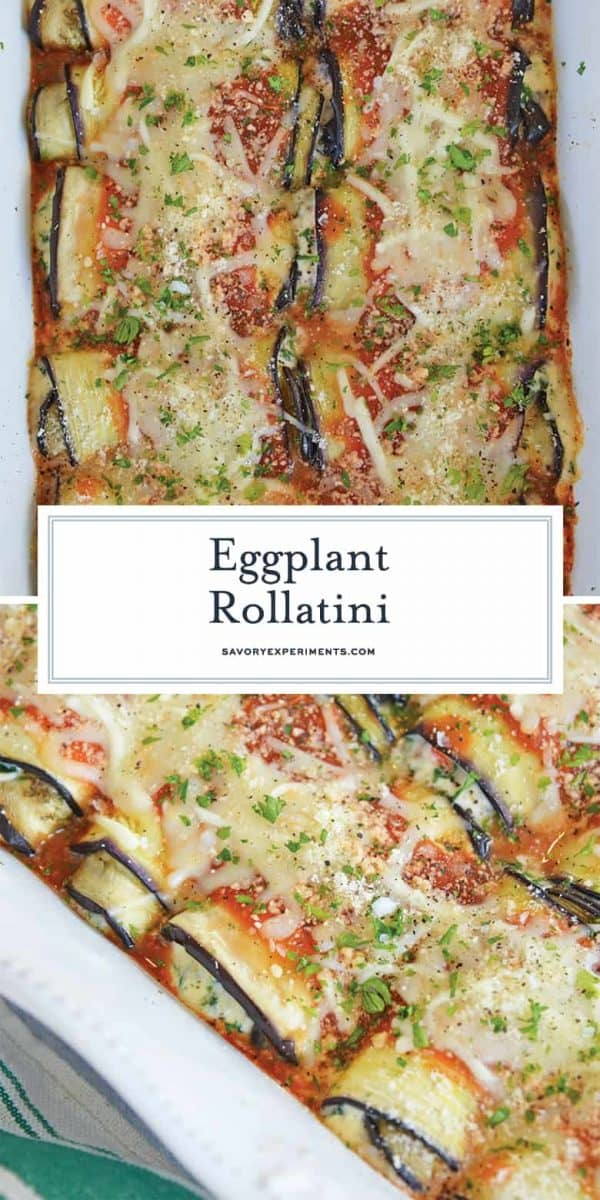 Eggplant Rollatini for Pinterest