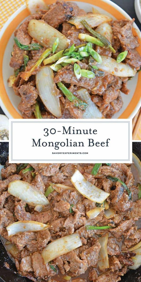 Mongolian Beef for Pinterest
