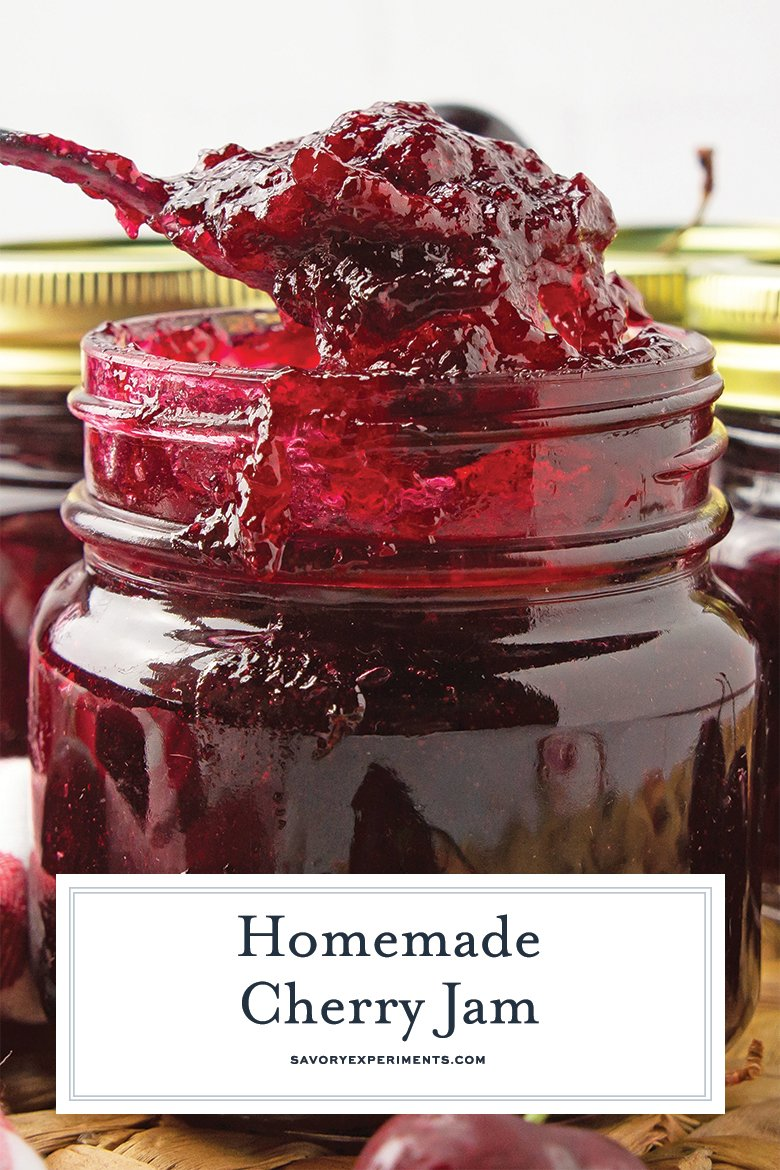 Easy homemade jam for pinterest