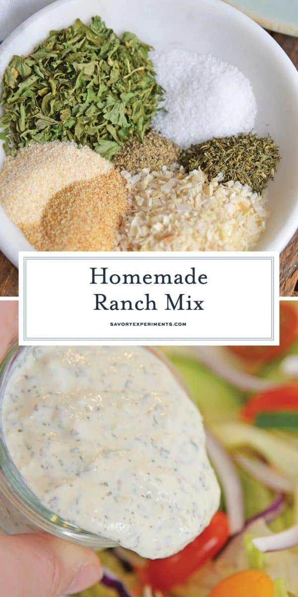 Ranch dressing mix for pinterest