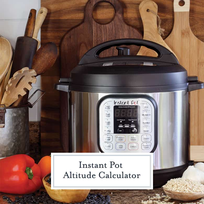 close up of instant pot