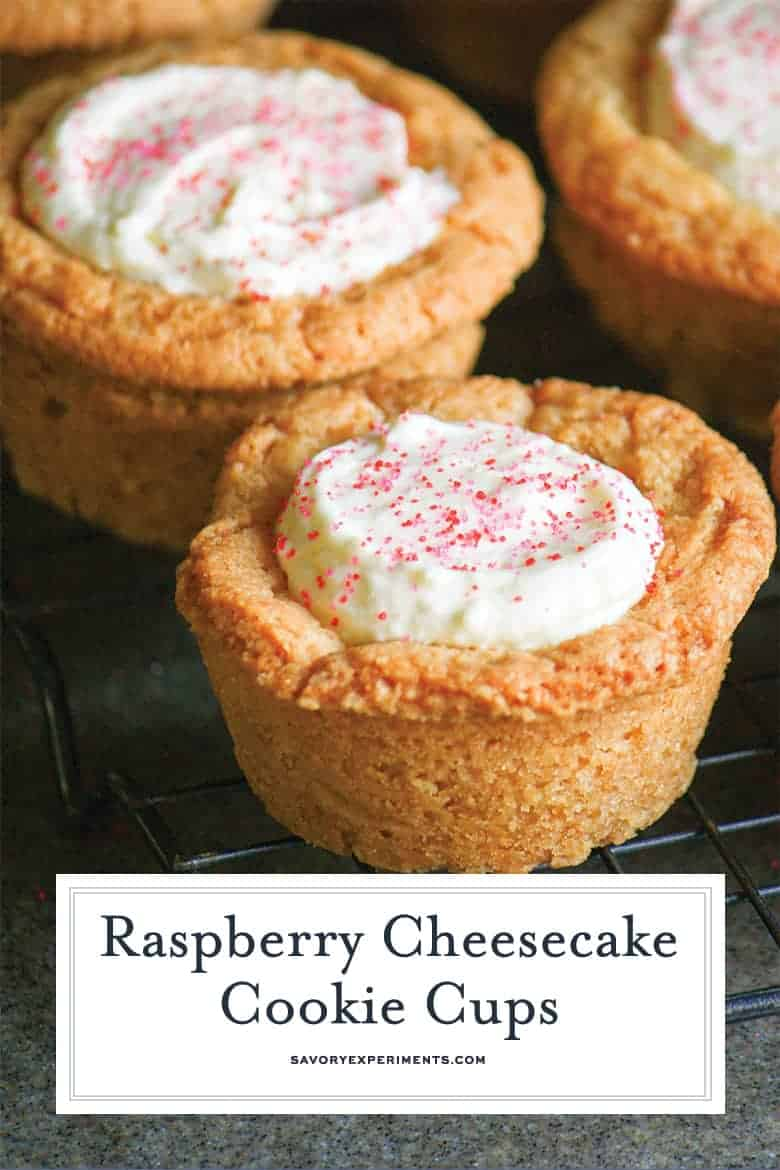 Sugar Cookie Cups for Pinterest