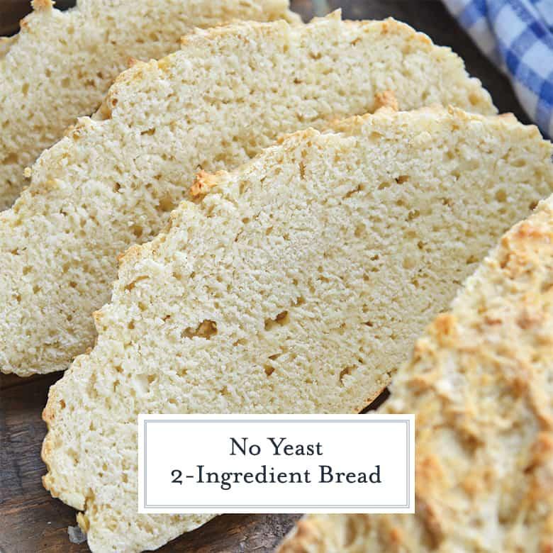 Sliced no yeast bread