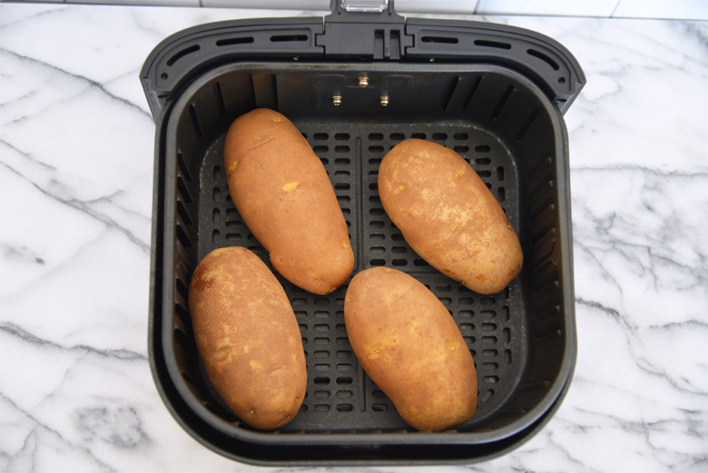 Potatoes in an Air Fryer
