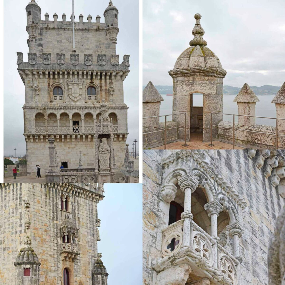 Images from Belem Tower